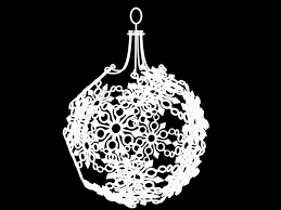 3d print model snowflake ornament cgtrader