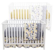 Dahlia Nursery Bedding Set by Amazon Com Grey Dahlia 4 In 1 Baby Crib Bedding Collection