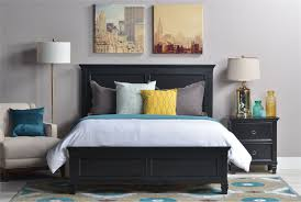 White King Panel Bedroom Suite Savannah California King Panel Bed Living Spaces