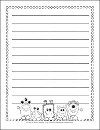 printable animal lined paper the creative chalkboard holy moly guacamole and free writing