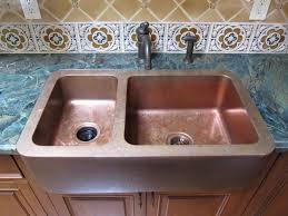 kitchen design ideas copper farmhouse sink kitchen sinks amelie