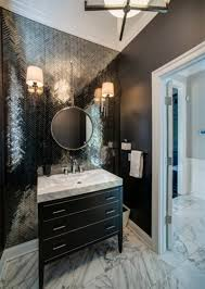 strong bathrooms with black cabinets for design ideas full home