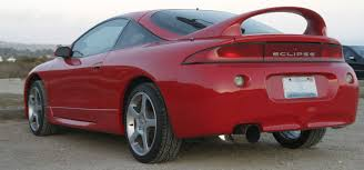 picture of 1997 mitsubishi eclipse gsx turbo awd exterior