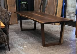 live edge table chicago live edge slab dining tables walnut slabs and tops