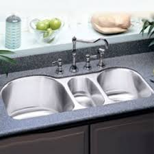 Triple Bowl Undermount Sink Foter - Kitchen bowl sink