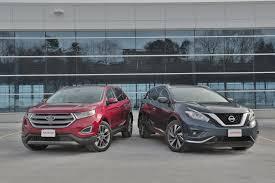 nissan murano interior 2016 2016 ford edge vs 2016 nissan murano autoguide com news