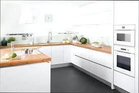 cuisine avec plan de travail en bois cuisine blanche plan de travail bois cuisine plan travail plan