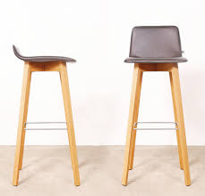 Bar Stool With Backrest Maverick Bar Stool In Either The High Or Low Backrest Wooden