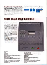 infrequent sound tex technology alesis mmt 8 midi sequencer