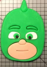 pj masks gekko cookie cutter lauriscookiecutters etsy