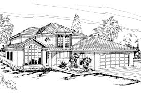 Spanish Style Home Plans With Courtyard by Villa Style House Plans Home Designs Ideas Online Zhjan Us