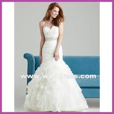 designer fishtail white wedding dresses strapless sweetheart