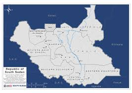 Map States by South Sudan Maps