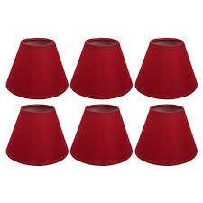 Red Chandelier by Afy Clip On Candle Lampshade Red Color Chandelier Lamp Shades