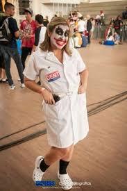Joker Nurse Halloween Costume Brainiac Tournament Shader Win Pose Injustice 2 Injustice 2