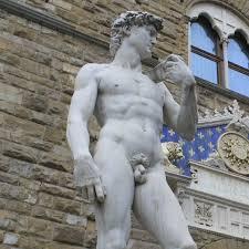 statues in piazza della signoria in florence italian notes