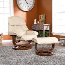 Ikea Recliner Chair Ottomans Aby Leather Recliner With Ottoman Pedestal Recliner