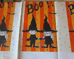 halloween tablecloth etsy