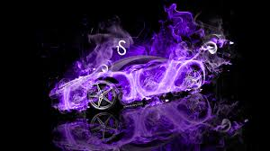 purple laferrari ferrari laferrari fire abstract car 2013 el tony