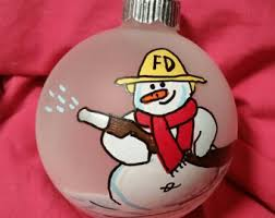 fireman ornament fighter ornament fireman gift