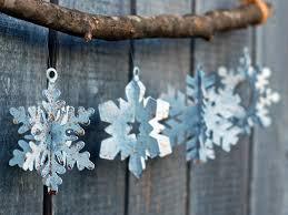 snowflake ornaments drop metal