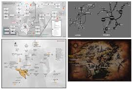 Dark Souls 2 Map Matt Rickard Graphic Design Portfolio