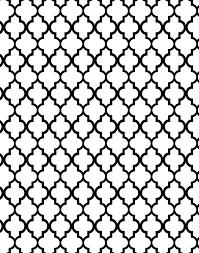 Morrocan Design Stencil Boss Mia Quarterfoil Clover Moroccan Allover Pattern