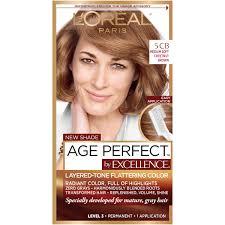 l oréal paris age permanent hair color 5cb medium chestnut brown