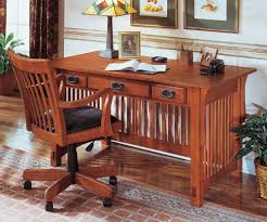 Mission Style Dining Room Sets Mission Style White Oak Office Furniture Craftsman Home Office