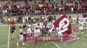 Flag Of Oklahoma Baker Mayfield Oklahoma Qb Apologizes For Planting Flag Video