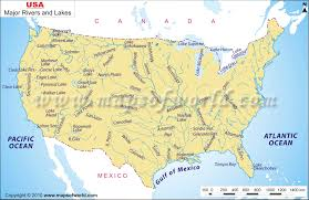 map usa oceans map of us oceans and rivers map usa map with rivers related