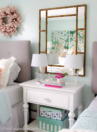 What Now Dream Bedroom Makeover - 12 mirrors that are right now bedrooms night table and girls