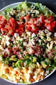 classic cobb salad cobb salad blue cheese dressing and blue cheese