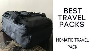 travel packs images Best travel packs nomatic travel bag jpg