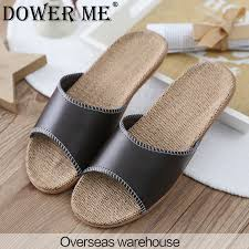 Mens Leather Bedroom Slippers by Compare Prices On Mens Leather House Slippers Online Shopping Buy