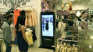 kinect fitting room for topshop youtube