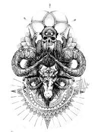 amazing skull tattoos 32 inspiring goat tattoo designs