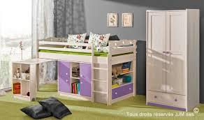 lit superpos combin bureau lit enfant combine bureau 90x200 gum