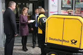 Post Bad Essen Post Testet Elektrisch Fahrenden