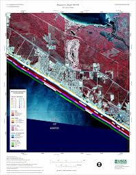 Map Of Panama City Beach Panama City Beach Nw Sw Coastal Classification Atlas
