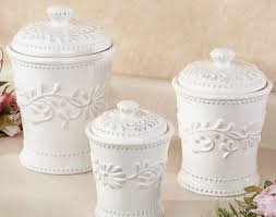 tuscan kitchen canister sets kitchen amazing white kitchen canister set artistic color decor