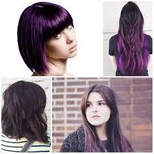 black hairstyles purple purple page 3 best hair color ideas trends in 2017 2018
