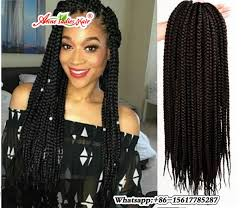 crochet black weave hair 24 strands crotchet braids ombre kanekalon braiding hair crochet
