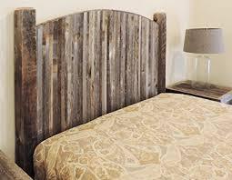 farmhouse style arched king bed barn wood headboard w narrow