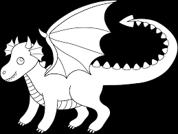black dragon clipart clipartxtras