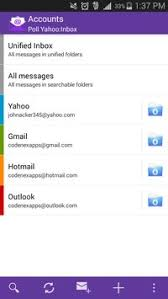 yahoo app for android email yahoo mail android app apk free communication