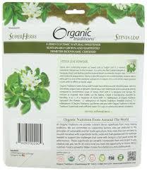 amazon com organic traditions stevia powder green leaf 3 5