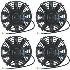 oil cooler with fan quad 6 inch electric fans 12v water oil cooler fan offroad atv utv