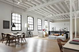 3 Stylish Industrial Inspired Loft Loft Apartments Nyc Downtown Manhattan Penthouse Apartment With