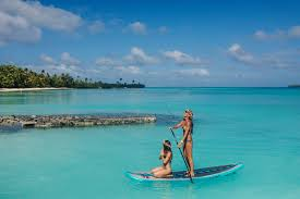 retreats rarotonga workout on water